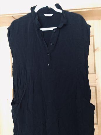Czarna sukienka ciazowa Rozmiar 14