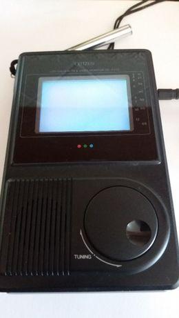 TV LCD CITIZEN .- Portátil a pilhas ou corrente - Funciona