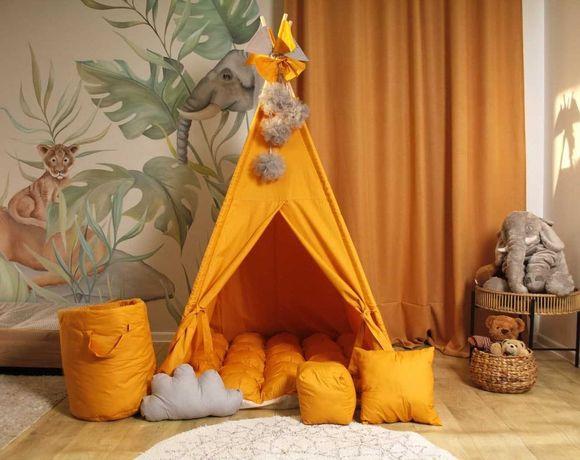 Детская палатка вигвам, домик. Для мальчика и для девочки.