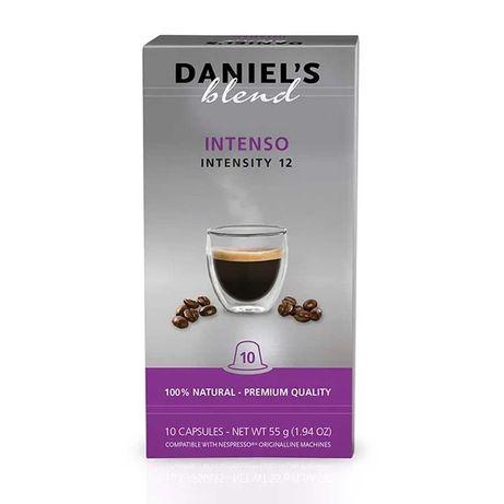 Caixa de 100 Cápsulas Daniels Blend para Nespresso Intenso