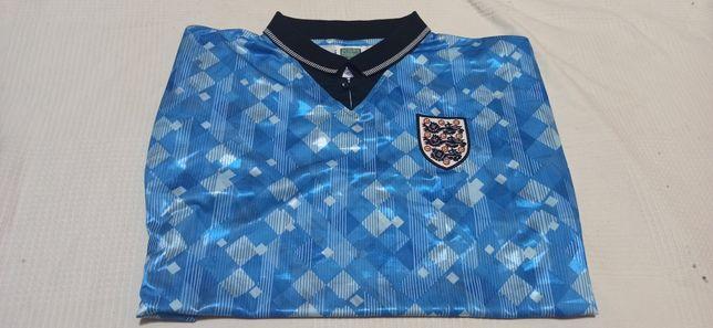 Koszulka Anglia 1990 retro Score Draw