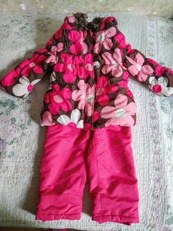 Куртка Joe Fresh и полу комбинезон F&F для девочки, 3 года, 98 см