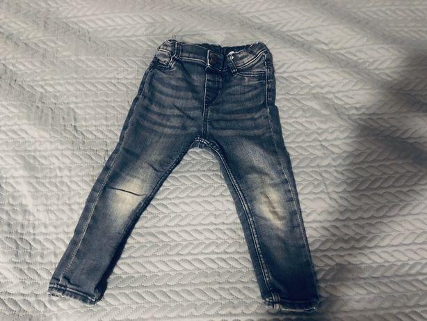 Spodnie jeansowe H&m rozmiar 92