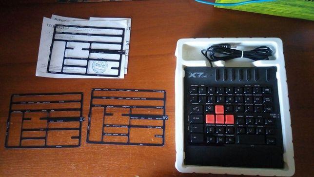 игровая клавиатура с гарантией a4tech x7 g100 защита от воды bloody