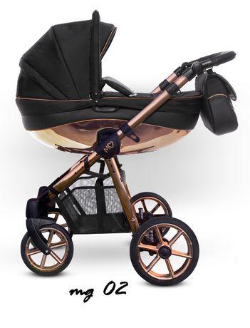 Rabat 8% Wózek Baby Active Mommy Glossy Miedź