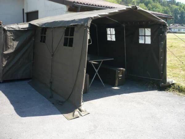 Намет палатка командування швейцарської армії