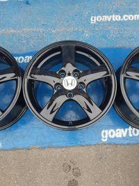 GOAUTO комплект дисков Honda черные 5/114.3 r16 et55 6.5j dia64.1 в ид