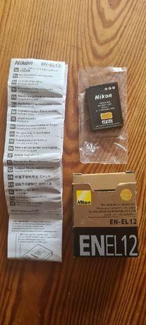 Nikon bateria EN-EL12 nowa oryginal