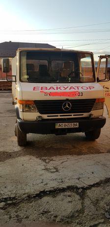 Послуги евакуатора эвакуатор лафета грузові вантажні перевезення тячів