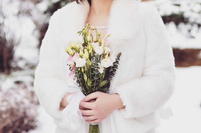 Свадебная шуба, идеальное состояние