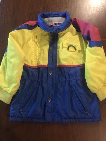 Куртка лля дівчинки 120 осінь- весна
