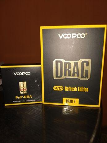 Pudełko po Voopoo Drag 2