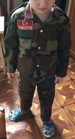 Камуфляжний костюм дитячий на 4роки
