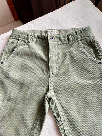 Spodnie sztruksowe chlopiece