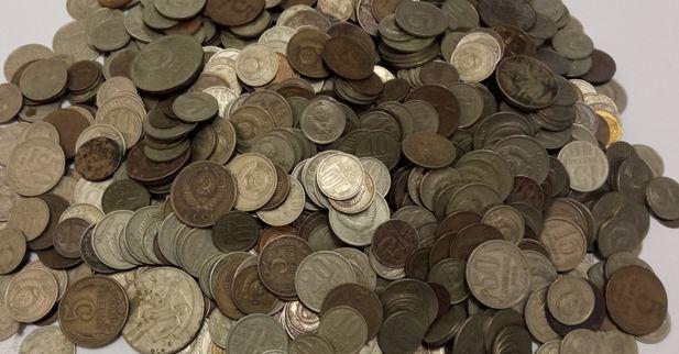 1000+монет СССР 1961-1991 г.г. от 1 коп до 1 руб. одним лотом. 350 грн