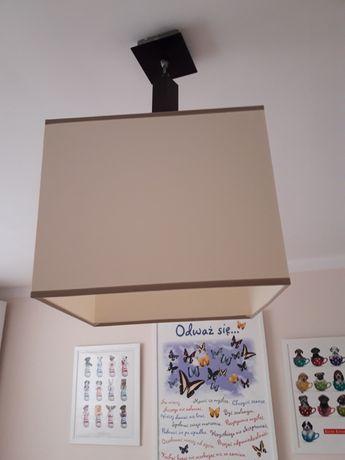 Lampa klosz 30x30 cm