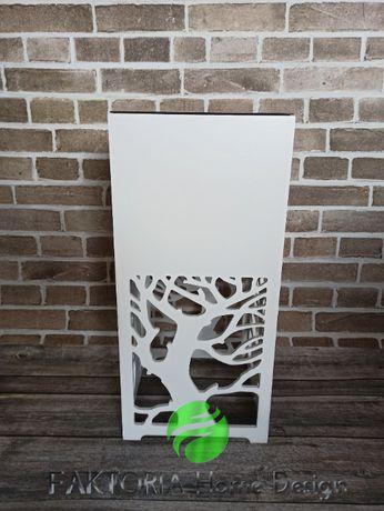 Donica, Kwietnik ażurowy 25 cm x 25 xm x 52 cm Kolory, Wzory
