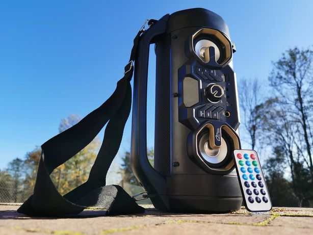 Subwoofer Tuba Boombox Radio Głośnik BLUETOOTH z MP3 budowlane Kolumna