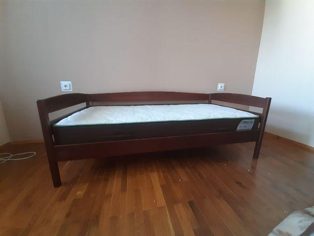 Кровать Нота плюс + матрас ортопедический Wind (1900*900 мм)