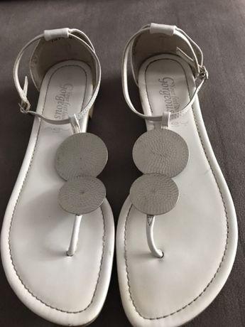 Sandały new look 39 białe