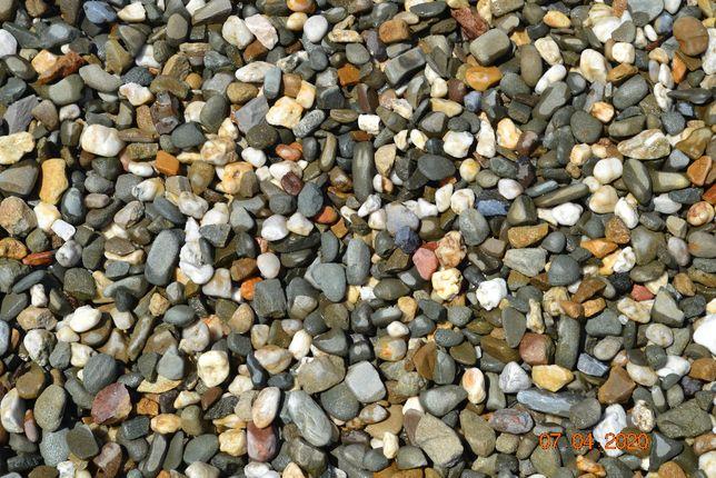 Kamień otoczak zielono-biały 8-16 mm 16-32 mm