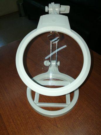 Увеличительное стекло лупа с подсветкой