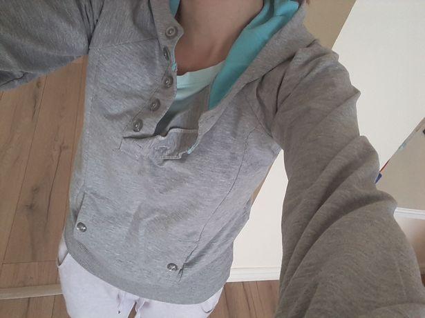 Szara bluza