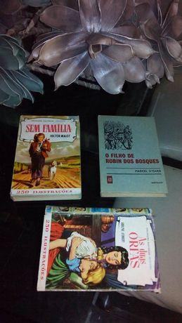 2 livros antigos colecção histórias selecção 1973 e 1974