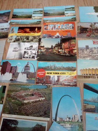Sprzedam stare pocztówki 61 sztuk
