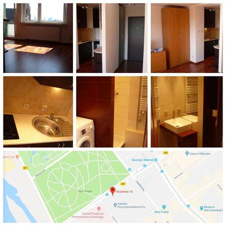 Mieszkanie - Kawalerka ul.Floriańska 14 - Metro - Praga - Park - Ciche