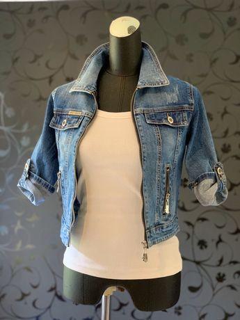 Стильная,приталеная джинсовая куртка,пиджак S,M,Xl, XXL