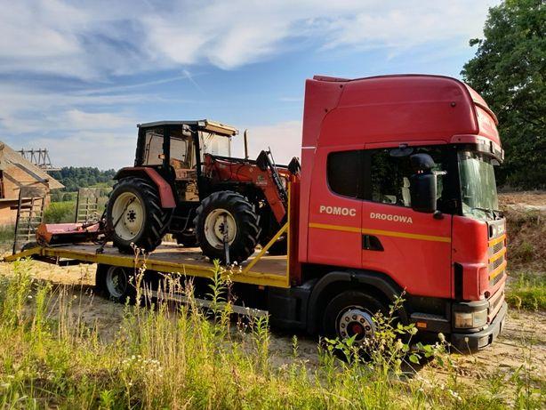 Transport drogowy niskopodwoziowy maszyn HDS