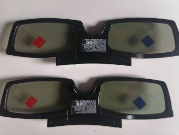 Sprzedam kpl. 2szt. okularów 3D do TV Samsung