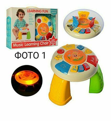 Музыкальный развивающий столик (2 вида)