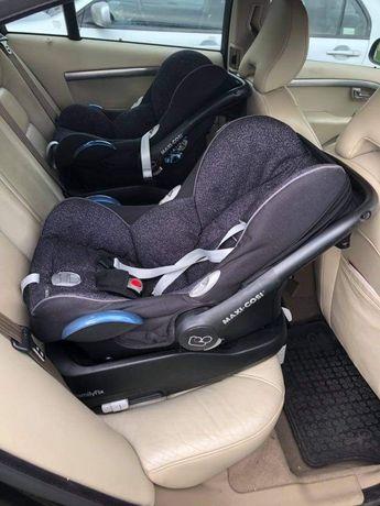 Maxicosi cabriofix 2 foteliki samochodowe 0-13 KG plus 2bazy FamilyFix