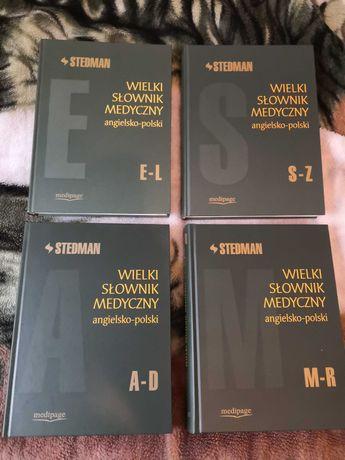Wielki słownik medyczny angielsko-polski (4 tomy) STEDMAN
