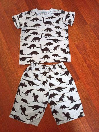 Пижама на мальчика 7-8 лет, рост 128см