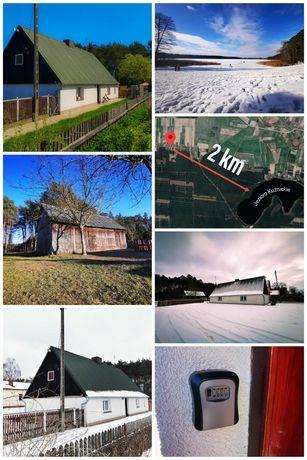 Domek nad jeziorem Nowa Tuchorza, Wolsztyn.