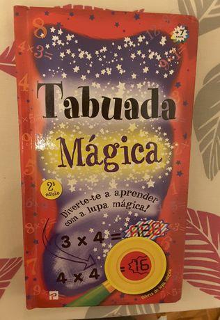 Livro Tabuada mágica  - NOVO