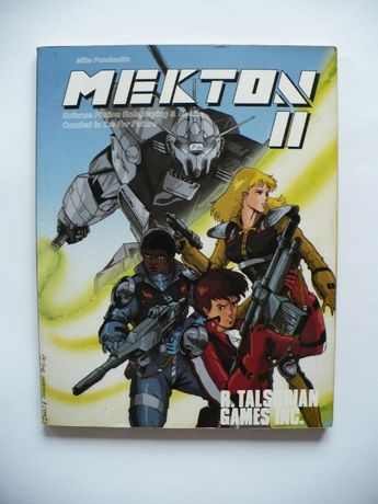 Mekton II Science Fiction Roleplaying & Mecha Combat in the Far Future