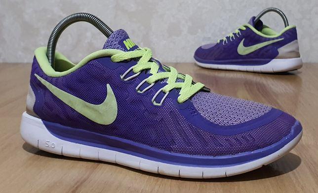 "Фирменные кроссовки Nike ""Free 5.0"" 38,5р/24см"