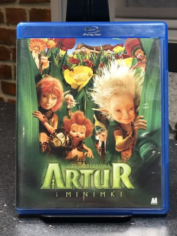 Bajka Bajki Artur i Minimki / Artur i Zemsta Maltazara Blu Ray