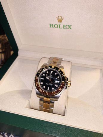 Rolex GMT-Master II 126711 CHNR VRF 18K RG Wrapped & SS Black Dial Swi