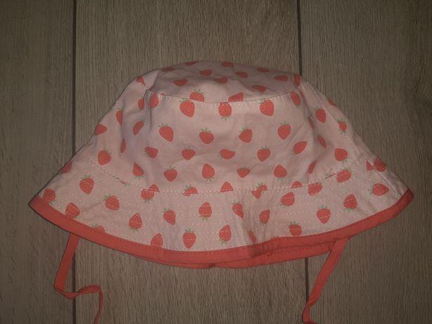 H&M kapelusz letni r.86 truskawki