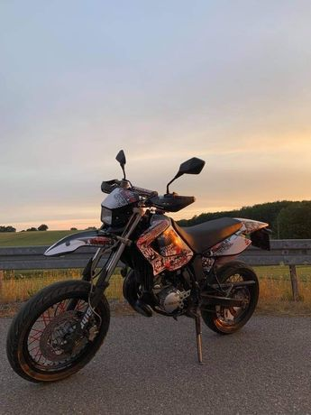 Na sprzedaż Yamaha Dt125X 2005r. Cena 9,5k do negocjacji Ponad 2 lata