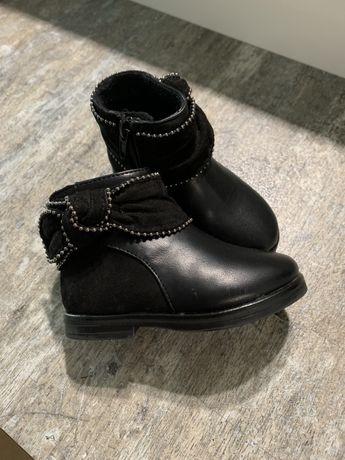 Botki buciki Zara 20 czarne