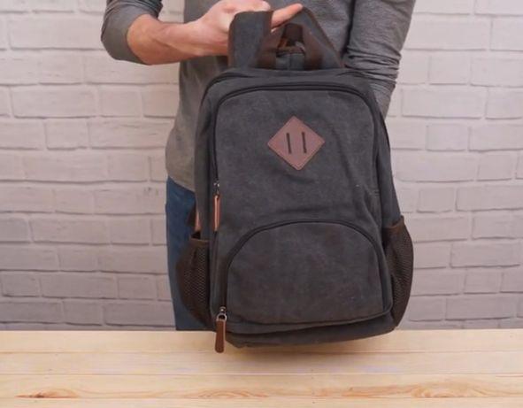 """"""""""">Топ распродажа жми рюкзак текстильный Vintage Черный!"""