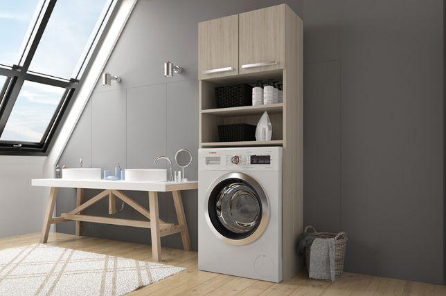 SZAFKA nad pralkę SONOMA BIAŁY zabudowa pralki