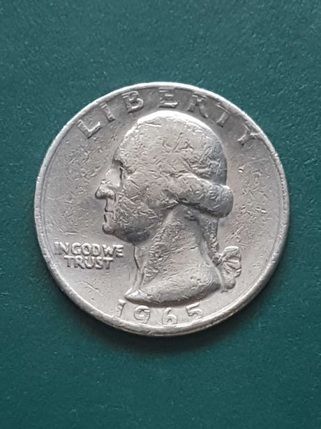 United States Liberty 1965 Quarter Dollar Quality Collectors Coin