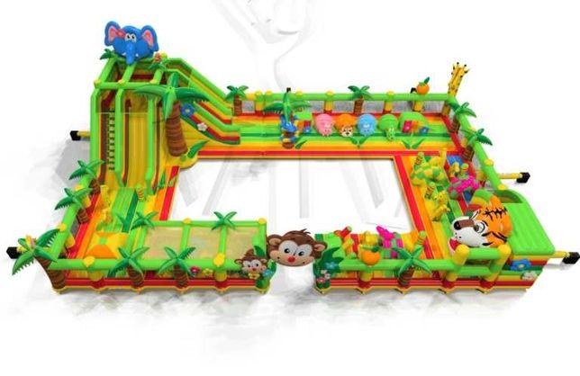Dmuchaniec dmuchany park rozrywki Jungle de Luxe
